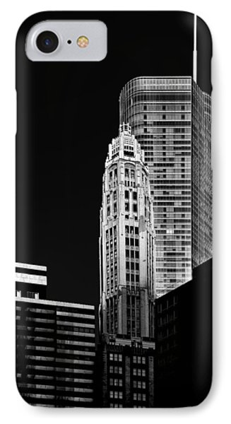 Chicago - Trump International Hotel And Tower Phone Case by Christine Till
