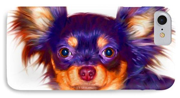 Chihuahua Art IPhone Case by Iain McDonald
