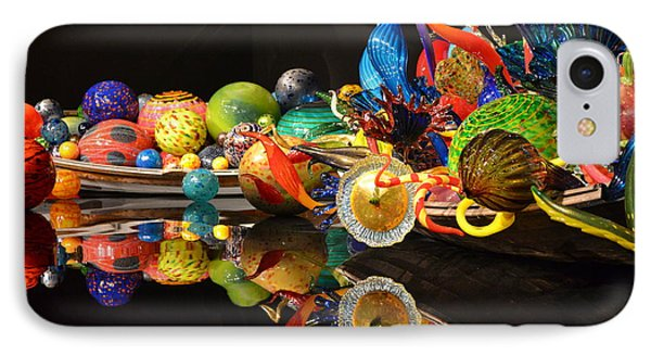 Chihuly-14 IPhone Case by Dean Ferreira