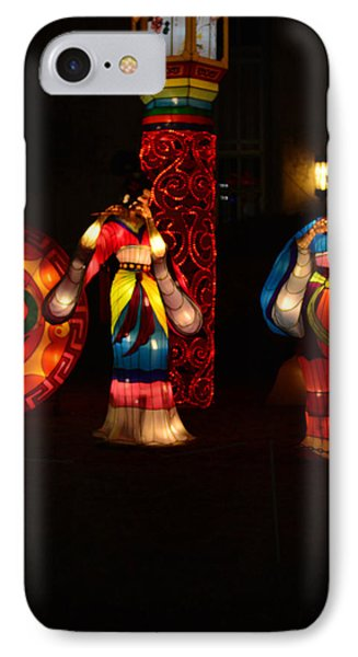 Chinese Dancers 2 IPhone Case