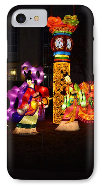 Chinese Dancers IPhone Case