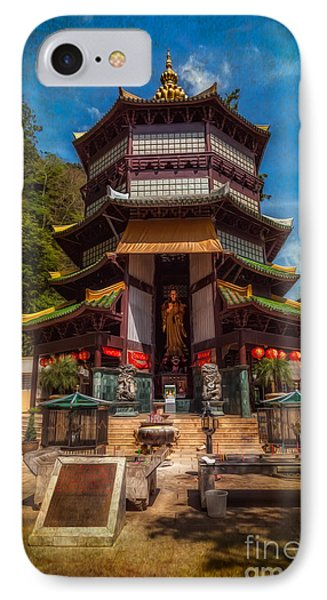 Chinese Temple IPhone Case by Adrian Evans