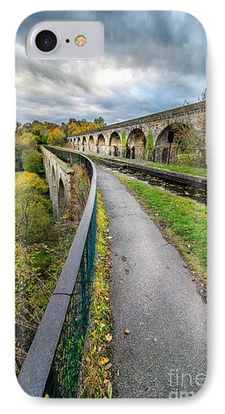 Chirk Aqueduct IPhone Case by Adrian Evans