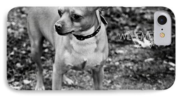 Chiwawa/pitbull Mix IPhone Case by Wilhemenia Williams