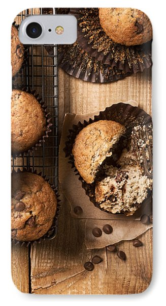 Chocolate Chip Muffins IPhone Case