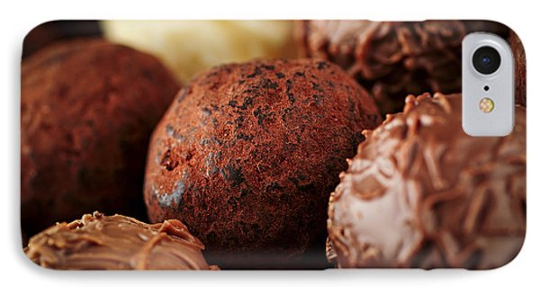 Chocolate Truffles IPhone Case by Elena Elisseeva