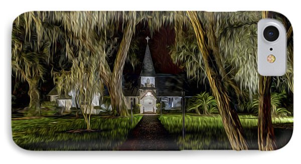 Christ Church IPhone Case by Debra and Dave Vanderlaan
