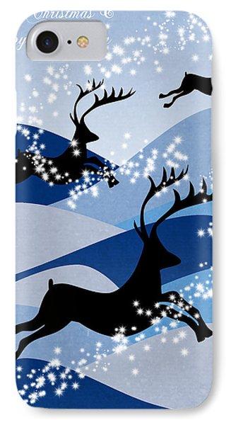 Christmas Card 2 IPhone Case by Mark Ashkenazi