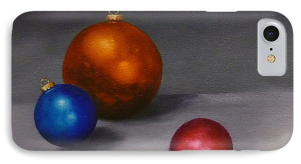 Christmas Glow Greeting Card  IPhone Case by Jo Appleby