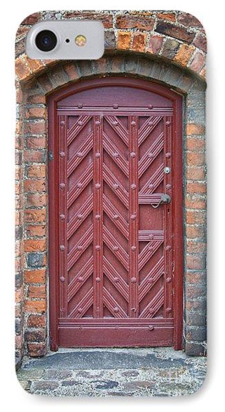 Church Door 02 Phone Case by Antony McAulay