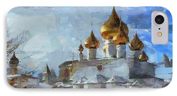 Church In Winter IPhone Case by Yury Malkov