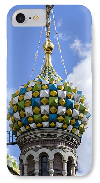 Church Of The Spilled Blood - St. Petersburg Russia IPhone Case by Jon Berghoff