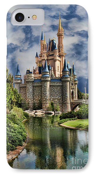 Cinderella Castle II Phone Case by Lee Dos Santos