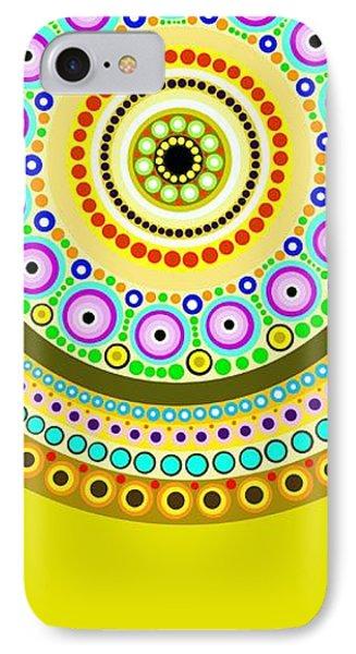 Circle Motif 122 IPhone Case