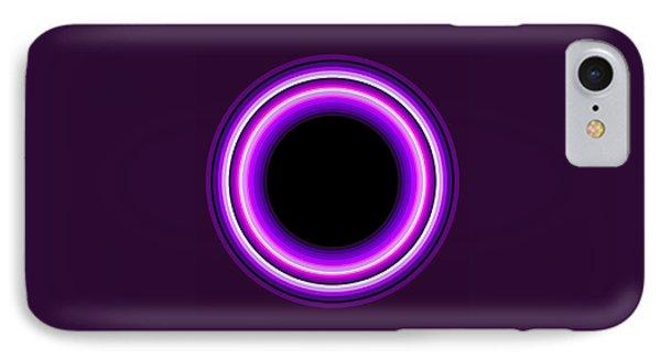 Circle Motif 144 Phone Case by John F Metcalf