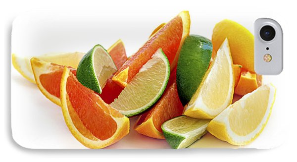 Citrus Wedges Phone Case by Elena Elisseeva