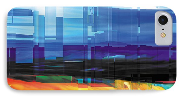 City Within Phone Case by The Art of Marsha Charlebois
