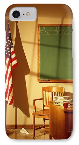 Classroom IPhone Case by Tony Cordoza