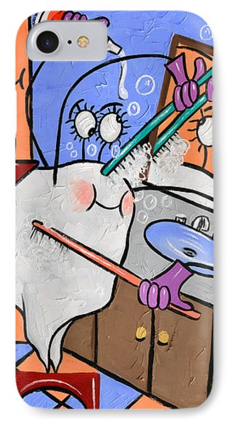 Clean Tooth IPhone Case by Anthony Falbo