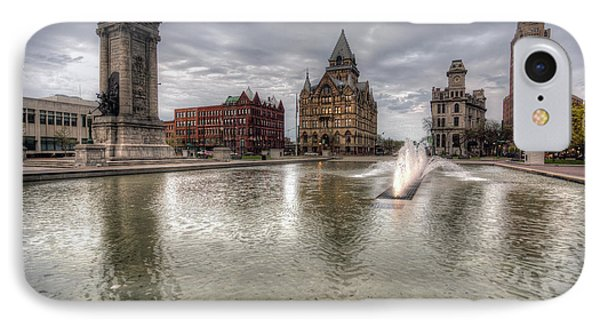 Clinton Square IPhone Case by John Hoey