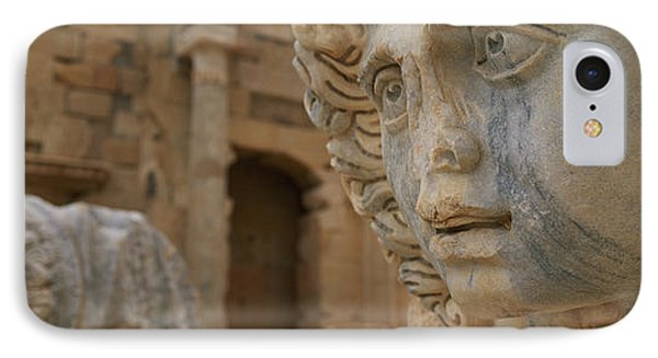 Close-up Of Statues In An Old Ruined IPhone Case by Panoramic Images