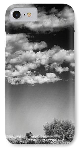 Clouds And Brush IPhone Case