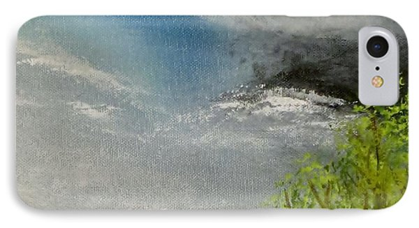 Cloudy Sky IPhone Case by Tim Townsend