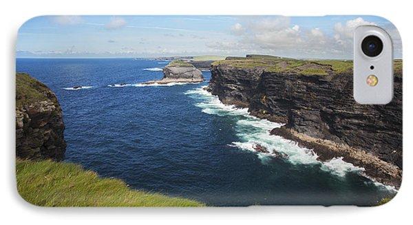 Coast Near Kilkee_ County Clare, Ireland IPhone Case