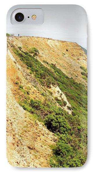 Coastal Cliff On The Jurassic Coast IPhone Case