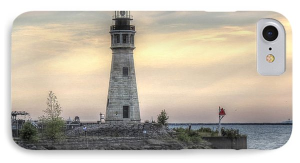 Coastguard Lighthouse IPhone Case by Darleen Stry