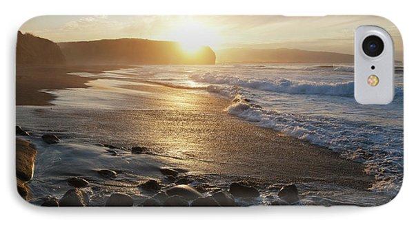 Coastline Of An Island In Portugal IPhone Case by Carl Bruemmer