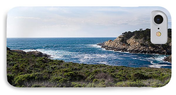 Coastline, Point Lobos State Reserve IPhone Case