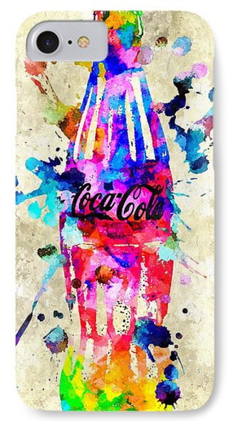 Coca-cola IPhone Case by Daniel Janda