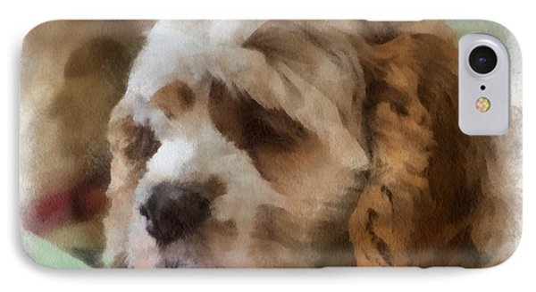 Cocker Spaniel Photo Art 02 Phone Case by Thomas Woolworth