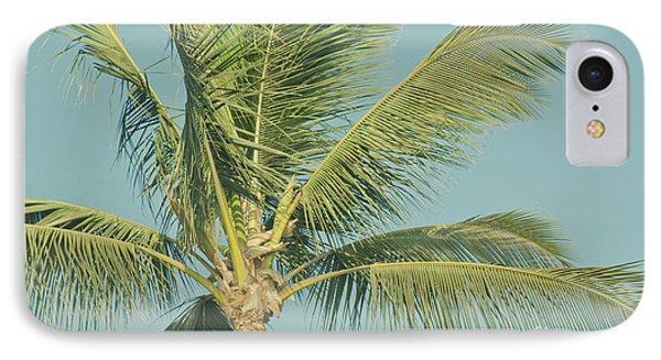 Cocos Nucifera - Niu - Palma - Po'olenalena Beach Maui Hawaii Phone Case by Sharon Mau