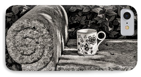 Coffee In Garden IPhone Case