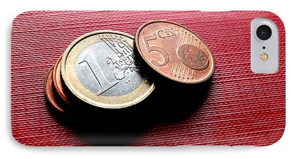 Coins Euro Phone Case by Michal Bednarek