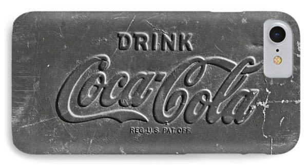 Coke Sign Phone Case by Jill Reger