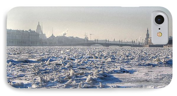 cold Peterburg IPhone Case by Yury Bashkin