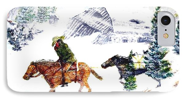 Cold Wind. IPhone Case by Larry Lamb