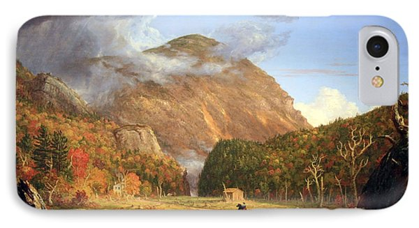 Cole's The Notch Of The White Mountains -- Crawford Notch IPhone Case by Cora Wandel