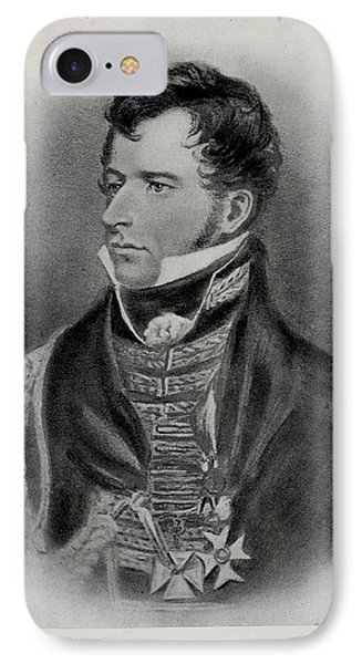 Colonel Sir William Howe De Lancey IPhone Case by British Library