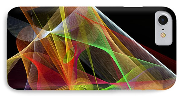 Color Symphony IPhone Case by Rafael Salazar