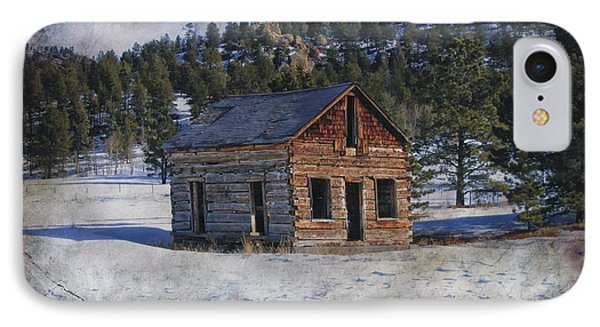 Colorado Log Cabin IPhone Case