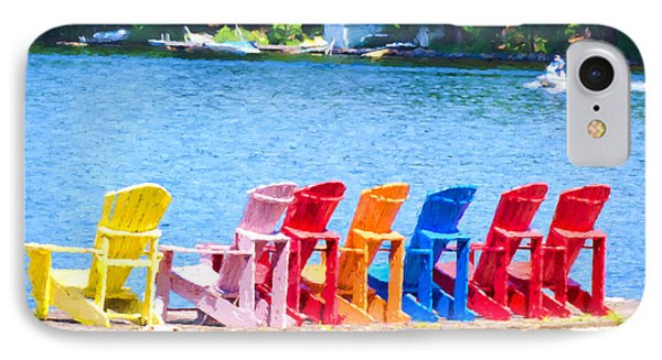 Colorful Chairs IPhone Case