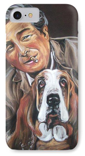 Columbo And Dog IPhone Case by Martha Suhocke