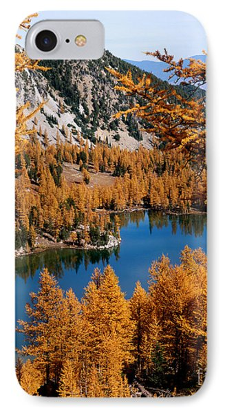 Cooney Lake And Martin Peak IPhone Case
