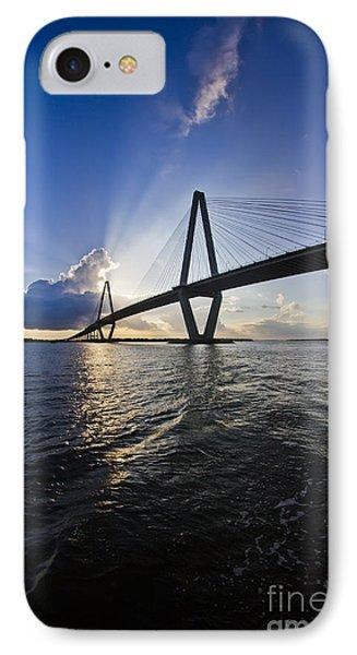 Cooper River Bridge Charleston Sc Phone Case by Dustin K Ryan