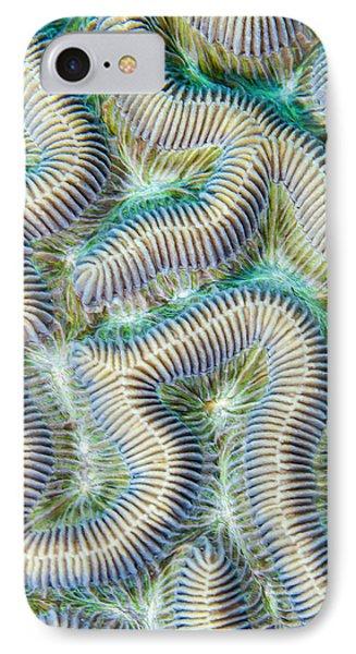 Coral Maze Phone Case by Jean Noren