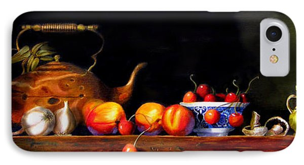 IPhone Case featuring the painting Cornucopia 2 by Barry Williamson